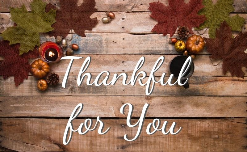 Happy Thanksgiving 2019 from Padgett & Padgett, PLLC CPA's to you and yours